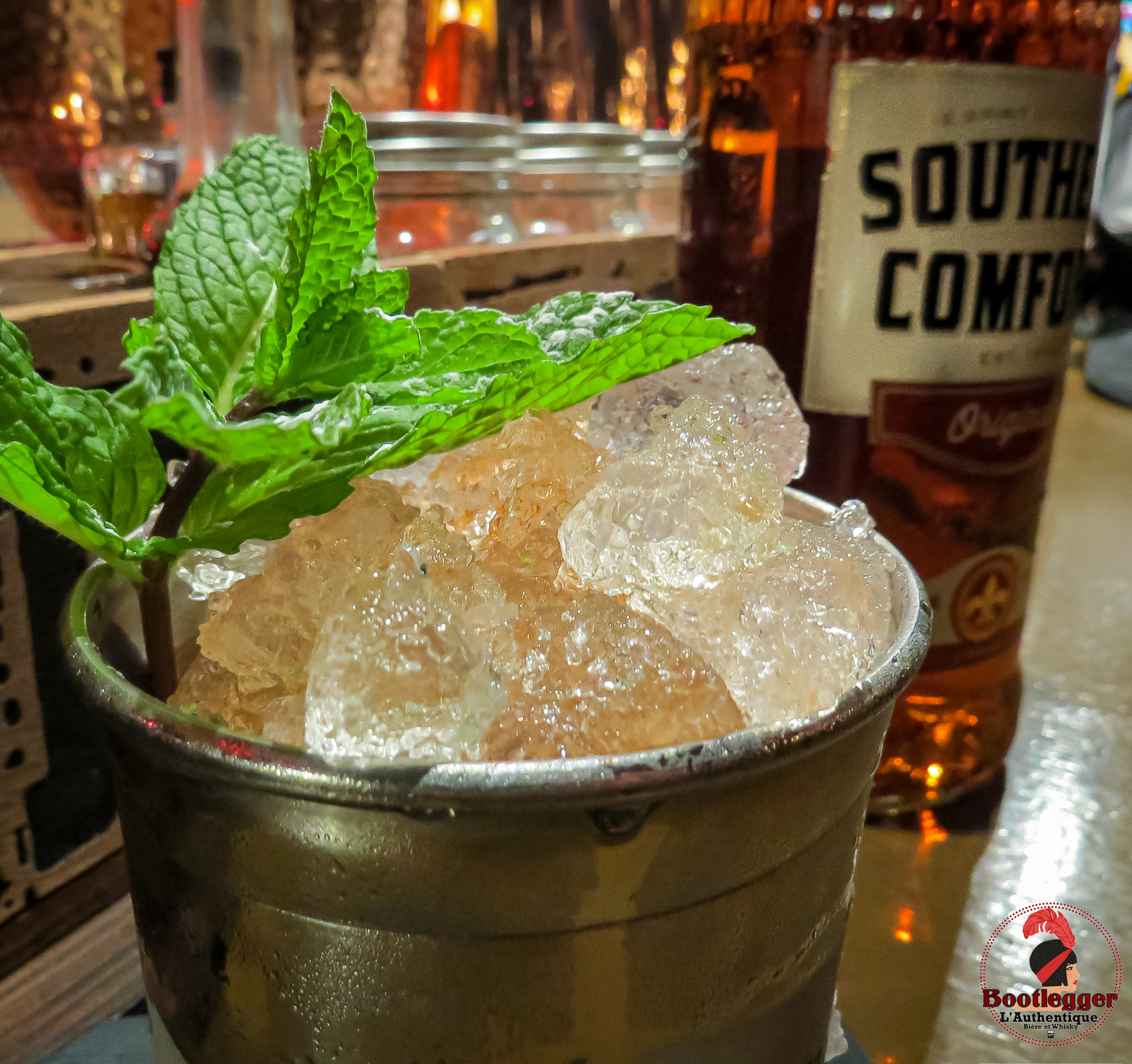Mint Juleo Cocktail Southern Confort