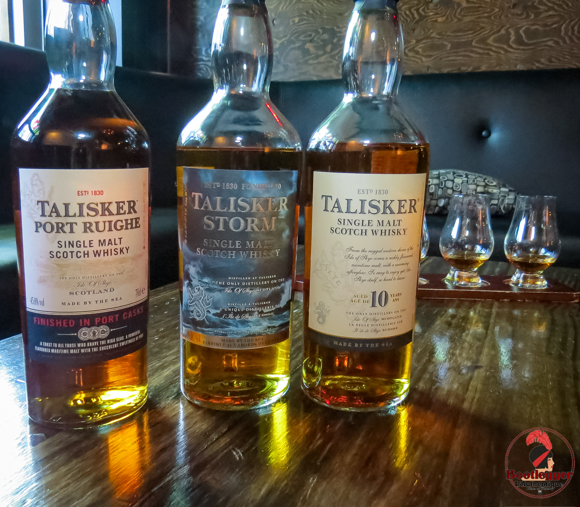 Flight Taliasker Single malt Scotch