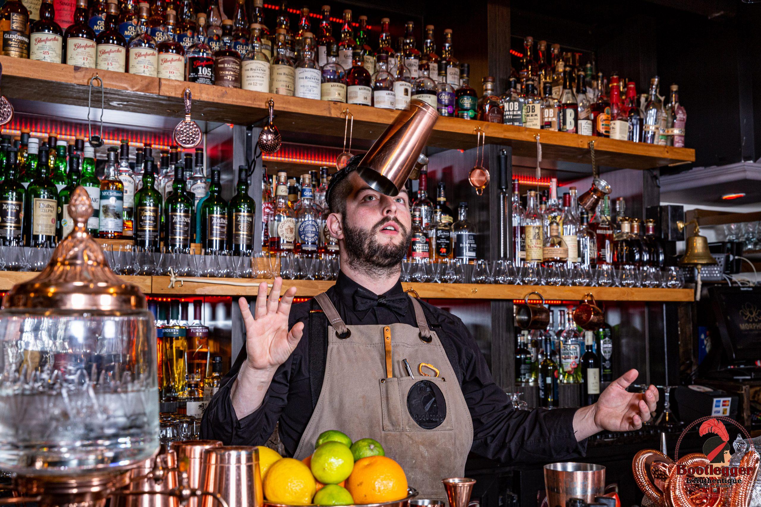 christ desjardins bartender bootlegger l'authentique