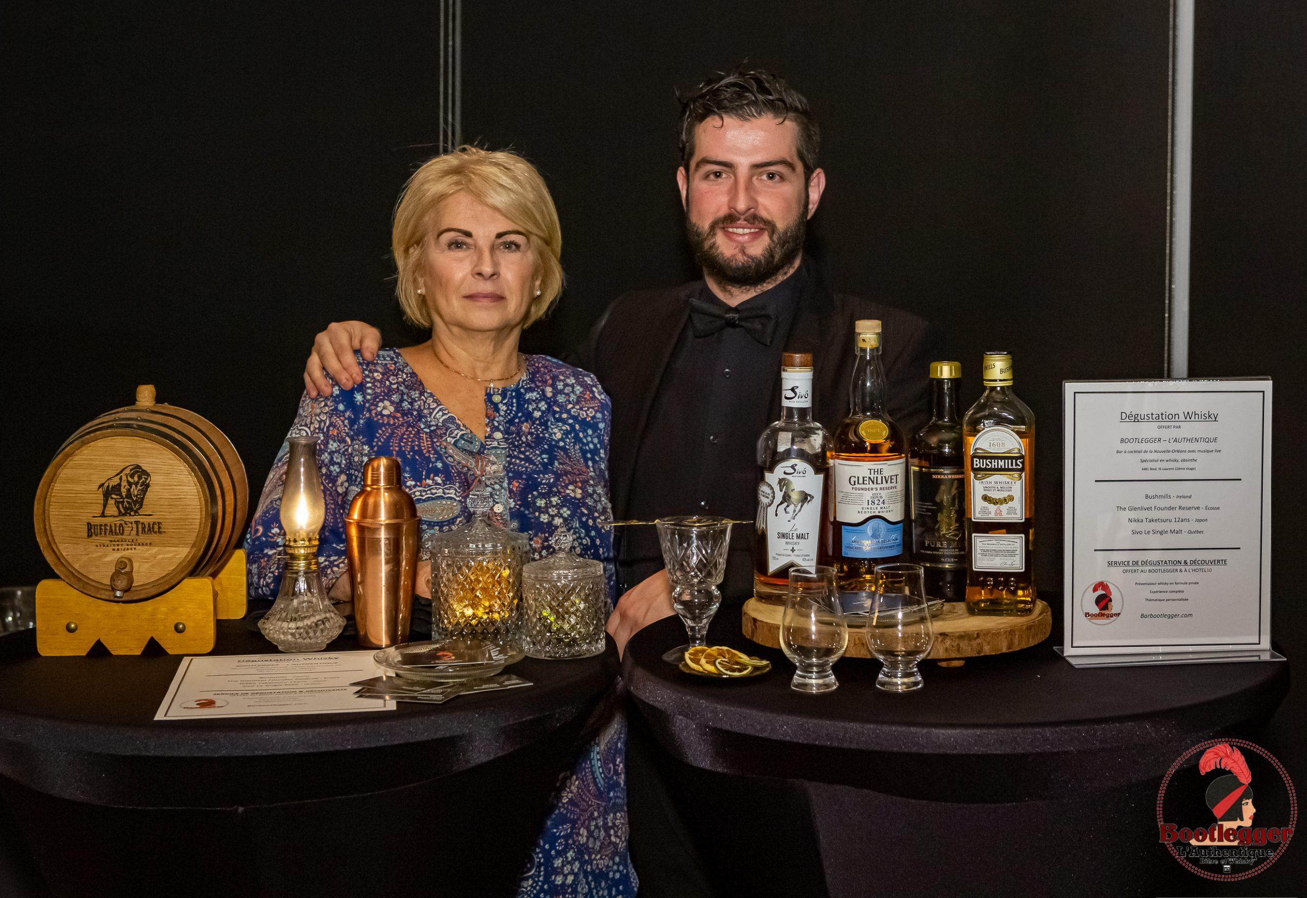degustation whisky montreal bootlegger