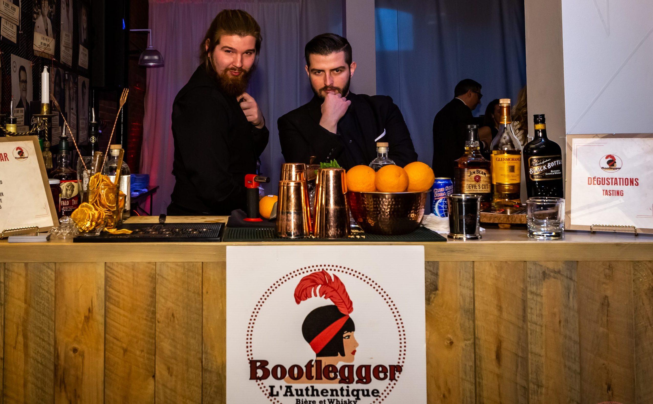 bootlegger l'authentique bartender dégustation whisky