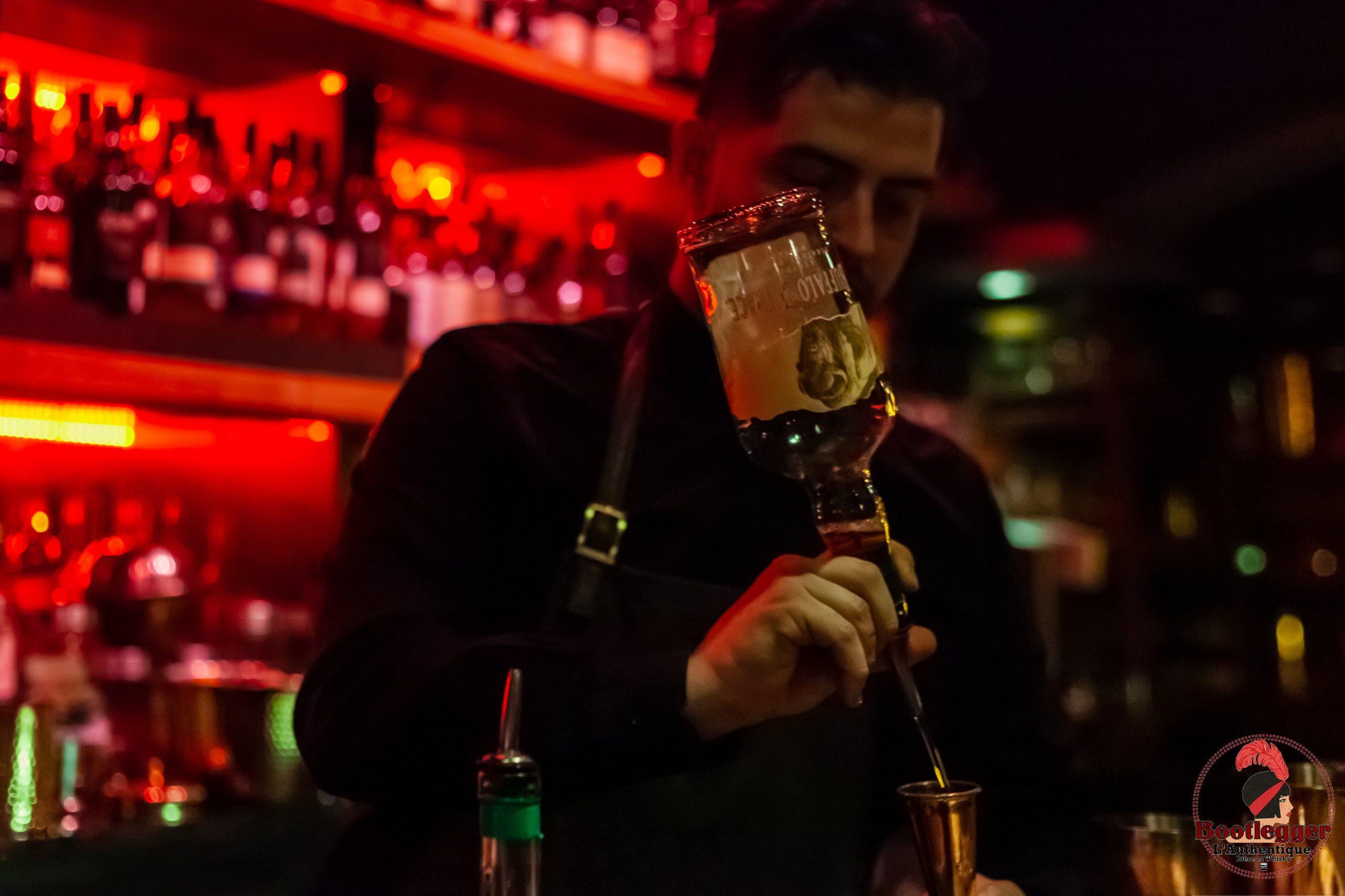 Christ Desjardins Bartender bootlegger montreal