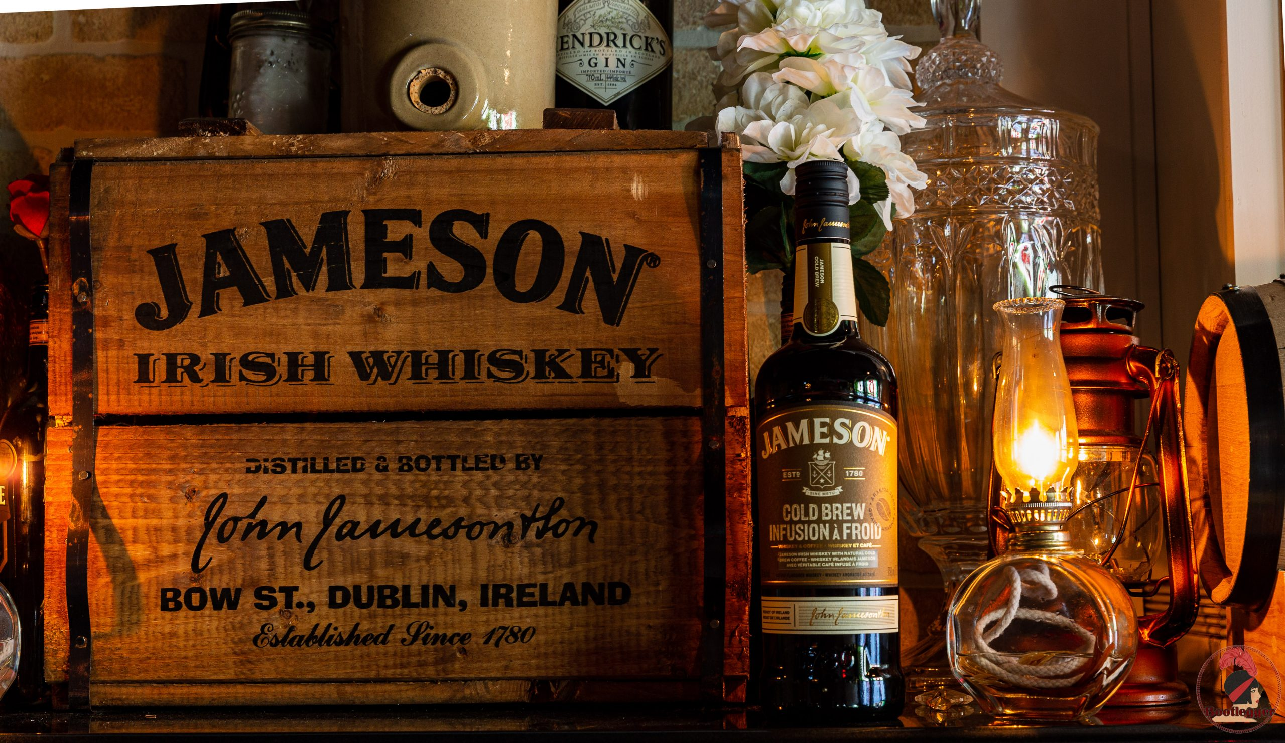 Jameson Coldbrew irish whiskey