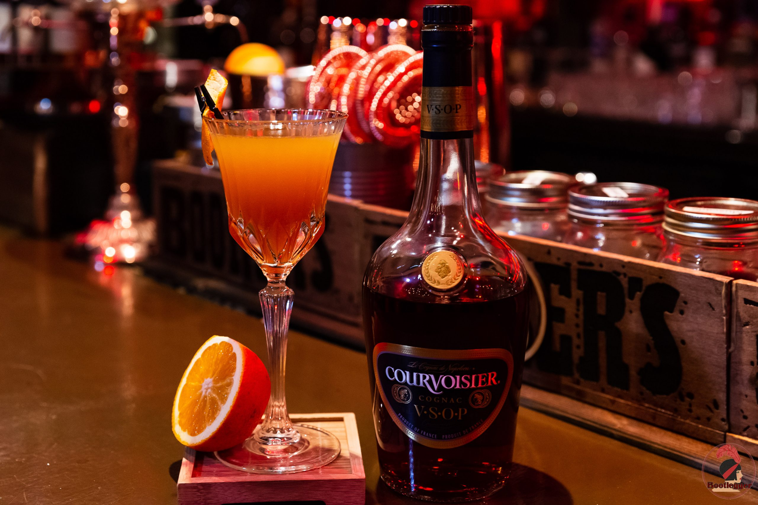 daisy cocktail courvoisier vsop montreal